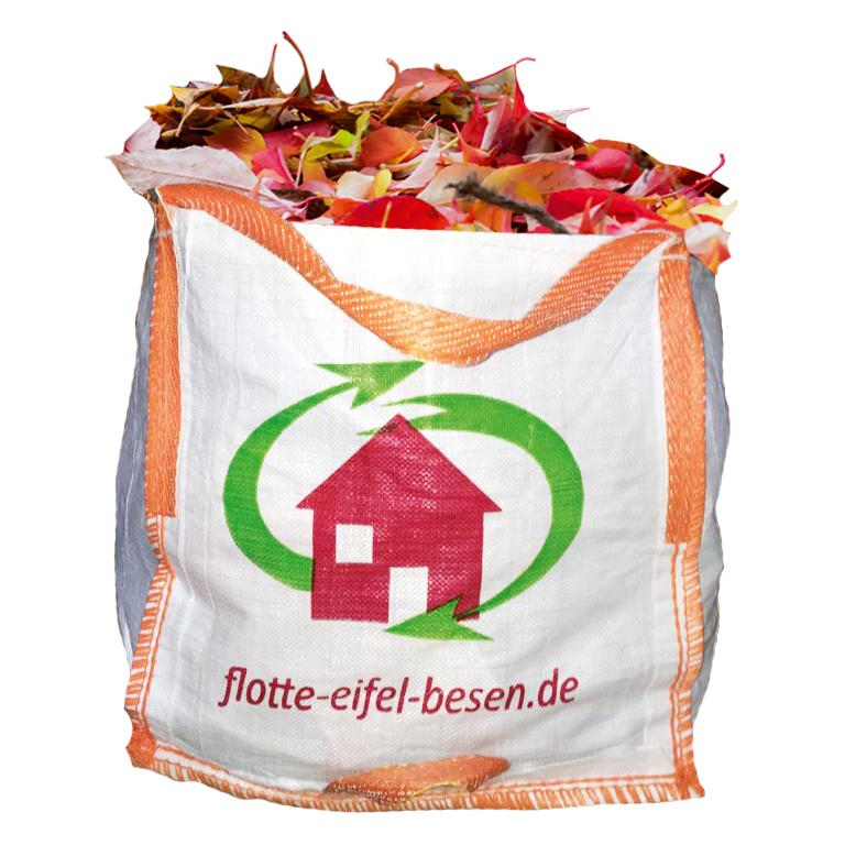 Mini-Big-Bags helfen beim Laub sammeln – flotte-eifel-besen.de